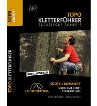 Sportkletterführer Deutschland Topo Kletterführer Sächsische Schweiz, Südteil komplett Bouldercity.de - Der Laden