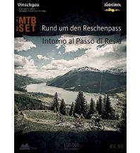 Radkarten MTB-Karte Rund um den Reschenpass 1:35.000 Alpenwelt Verlag