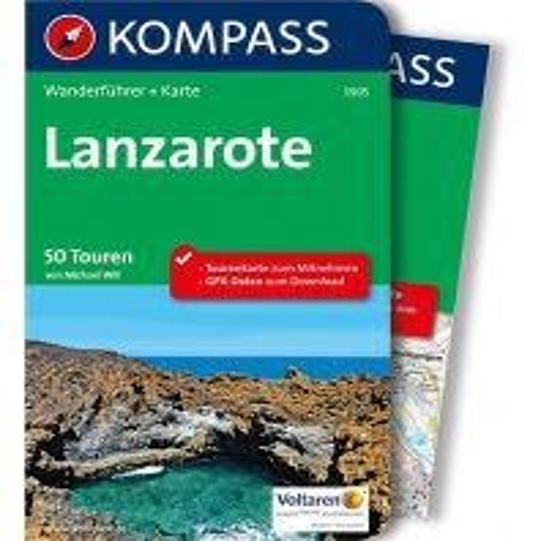 Wanderführer Kompass Wanderführer Lanzarote, m. 1 Karte Kompass-Karten GmbH