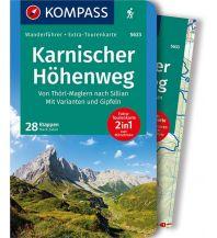 Weitwandern Kompass-Wanderführer 5633, Karnischer Höhenweg Kompass-Karten GmbH