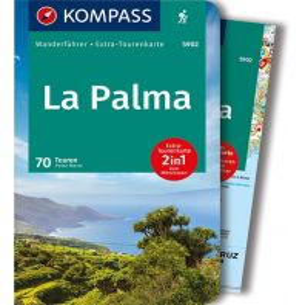 Wanderführer Kompass-Wanderführer 5902, La Palma Kompass-Karten GmbH