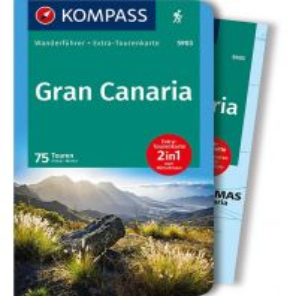 Wanderführer Kompass-Wanderführer 5903, Gran Canaria Kompass-Karten GmbH