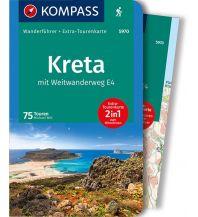 Weitwandern Kompass-Wanderführer 5970, Kreta mit Weitwanderweg E4 Kompass-Karten GmbH