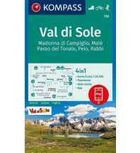 Wanderkarten Italien Kompass-Karte 119, Val di Sole 1:35.000 Kompass-Karten GmbH