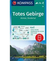 Wanderkarten Steiermark Kompass-Karte 19, Totes Gebirge, Almtal, Stodertal 1:50.000 Kompass-Karten GmbH