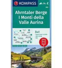 Wanderkarten Tirol Kompass-Karte 082, Ahrntaler Berge/I Monti della Valle Aurina 1:25.000 Kompass-Karten GmbH