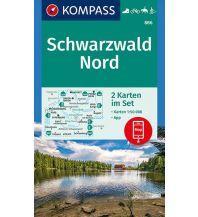 Wanderkarten Schwarzwald - Schwäbische Alb Kompass-Kartenset 886, Schwarzwald Nord 1:50.000 Kompass-Karten GmbH