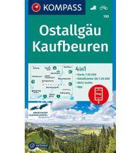 Wanderkarten Bayern Kompass-Karte 188, Ostallgäu, Kaufbeuren 1:50.000 Kompass-Karten GmbH