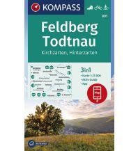 Wanderkarten Schwarzwald - Schwäbische Alb Kompass-Karte 891, Feldberg, Todtnau 1:25.000 Kompass-Karten GmbH