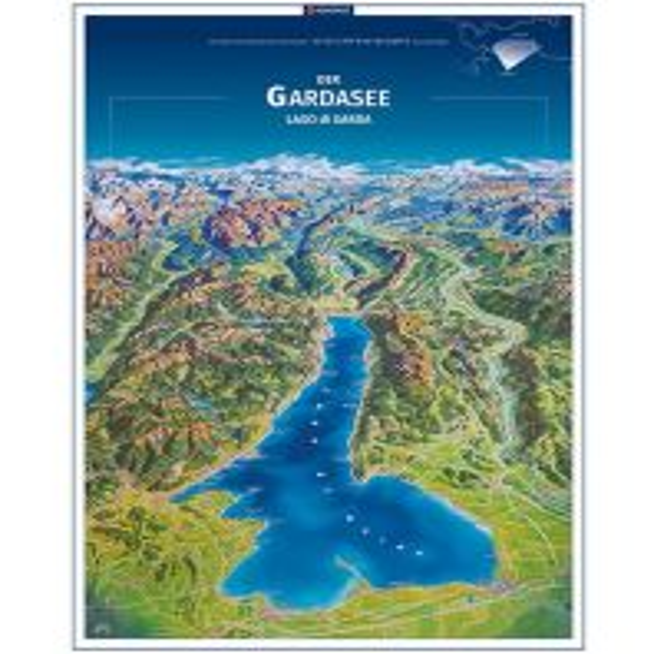 Wanderkarten Kompass Planokarte in Rolle - Der Gardasee/Lago di Garda Kompass-Karten GmbH