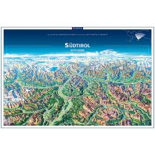 Wanderkarten Kompass Planokarte in Rolle Italien Alpin - Südtirol / Alto Adige Kompass-Karten GmbH