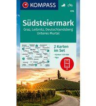 Kompass-Kartenset 226, Südsteiermark 1:50.000 Kompass-Karten GmbH