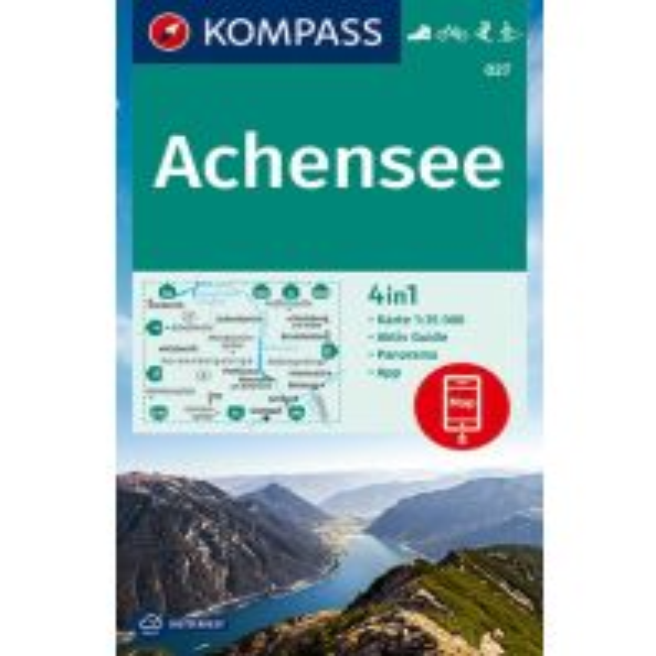 Kompass-Karte 027, Achensee 1:35.000 Kompass-Karten GmbH