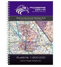 Flugkarten VFR Luftfahrtatlas 2020 - Österreich 1:200.000 Rogers Data