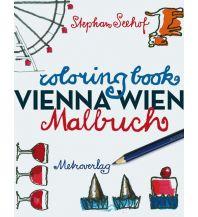 Reiseführer Wien-Malbuch / Vienna Coloringbook metro - verlagsbüro w. gmbh.