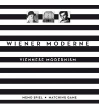 Reiseführer Wiener Moderne Memo Spiel / Matching Game metro - verlagsbüro w. gmbh.
