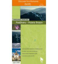 Wanderkarten Rumänien Zenith Wanderkarte Rumänien - Postăvaru, Poiana Brașov 1:25.000 Zenith Maps