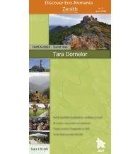 Wanderkarten Rumänien Zenith Wanderkarte 9, Țara Dornelor 1:50.000 Zenith Maps