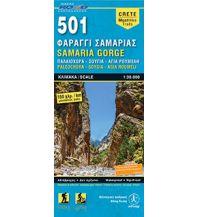 Wanderkarten Kreta Road Editions Map Kreta 501, Samariá Gorge 1:30.000 Road Editions