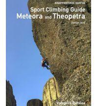Sportkletterführer Südosteuropa Sport Climbing Guide Meteora and Theopetra tmms - climbing