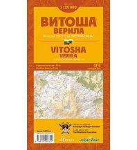 Wanderkarten Bulgarien Iskartour Wanderkarte Bulgarien - Vitoša/Witoscha, Verila/Werila 1:25.000 IskarTour