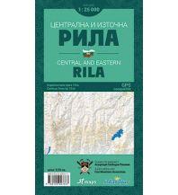 Wanderkarten Bulgarien Iskartour Wanderkarte Bulgarien - Rila Central and Eastern 1:25.000 IskarTour