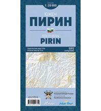 Wanderkarten Iskartour Wanderkarte Bulgarien - Pirin South/Süd 1:25.000 IskarTour