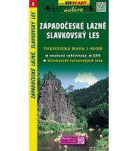 Wanderkarten Tschechien SHOcart-Wanderkarte 9, Západočeské Lázně/Westböhmisches Bäderdreieck, Slavkovský les 1:50.000 Shocart
