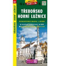Wanderkarten Tschechien SHOcart-Wanderkarte 41, Třeboňsko, Horní Lužnice/Obere Lainsitz 1:50.000 Shocart