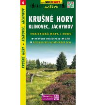 Wanderkarten Tschechien SHOcart-Wanderkarte 6, Krušné hory/Erzgebirge 1:50.000 Shocart