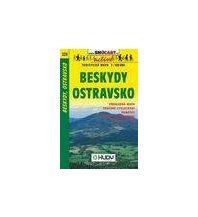 Radkarten SHOcart Tourist Map 223, Beskydy, Ostravsko 1:100.000 Shocart