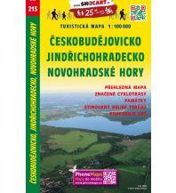 Radkarten SHOcart Tourist Map 215 - Ceskobudejovicko, Jindrichohradecko, Novohradske Hory 1:100.000 Shocart