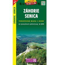 Wanderkarten Niederösterreich SHOcart Wanderkarte 1073, Záhorie, Senica 1:50.000 Shocart