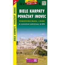 Wanderkarten Slowakei SHOcart Wanderkarte 1074, Biele Karpaty/Weiße Karpaten, Považský Inovec 1:50.000 Shocart