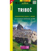 Wanderkarten Slowakei SHOcart Wanderkarte 1081, Tribec/Tribetz 1:50.000 Shocart