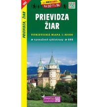 Wanderkarten Slowakei SHOcart Wanderkarte 1083, Prievidza, Žiar 1:50.000 Shocart