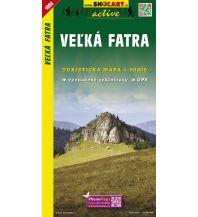 Wanderkarten Slowakei SHOcart Wanderkarte 1084, Velká Fatra/Große Fatra 1:50.000 Shocart