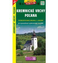 Wanderkarten Slowakei SHOcart Wanderkarte 1093, Kremnické vrchy/Kremnitzer Berge, Polana 1:50.000 Shocart