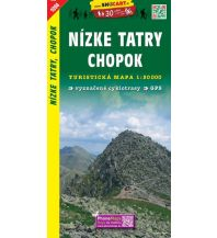 Wanderkarten Slowakei SHOcart Wanderkarte 1094, Nízke Tatry/Niedere Tatra, Chopok 1:50.000 Shocart
