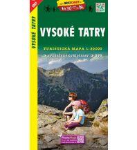 Wanderkarten Slowakei SHOcart Wanderkarte 1097, Vysoké Tatry/Hohe Tatra 1:50.000 Shocart