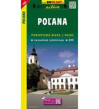 Wanderkarten Slowakei SHOcart WK 1101 Slowakei - Polana 1:50.000 Shocart