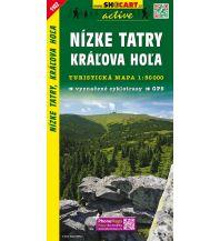 Wanderkarten Slowakei SHOcart Wanderkarte 1102, Nízke Tatry/Niedere Tatra, Králova Hola 1:50.000 Shocart