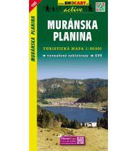 Wanderkarten Slowakei SHOcart Wanderkarte 1105, Muránska Planina 1:50.000 Shocart