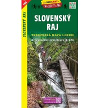 Wanderkarten Slowakei SHOcart Wanderkarte 1106, Slovenský Raj/Slowakisches Paradies 1:50.000 Shocart