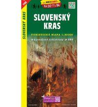 Wanderkarten Ungarn SHOcart Wanderkarte 1108, Slovenský Kras/Slowakischer Karst 1:50.000 Shocart