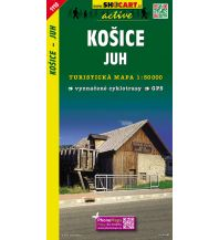 Wanderkarten Slowakei SHOcart Wanderkarte 1110, Košice Juh/Kaschau Süd 1:50.000 Shocart