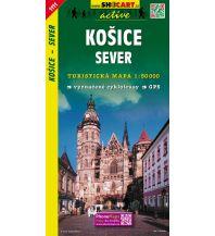 Wanderkarten Slowakei SHOcart Wanderkarte 1111, Košice Sever/Kaschau Nord 1:50.000 Shocart