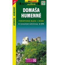 Wanderkarten Slowakei SHOcart WK 1115 Slowakei - Domasa - Humenne 1:50.000 Shocart