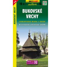 Wanderkarten Slowakei SHOcart Wanderkarte 1119, Bukovské vrchy 1:50.000 Shocart