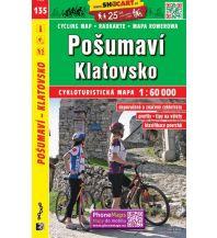 Radkarten Posumavi Klatovsko 1:60.000 Shocart